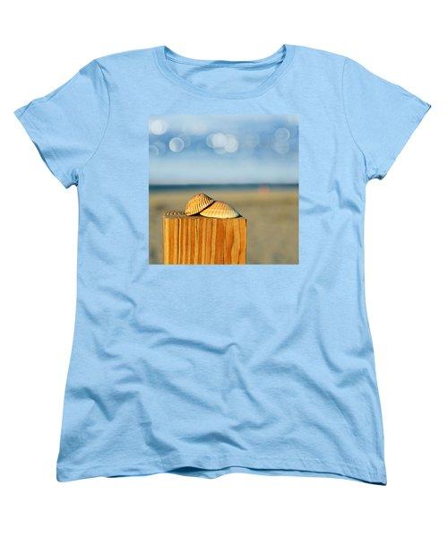 You And Me Women's T-Shirt (Standard Cut) by Laura Fasulo