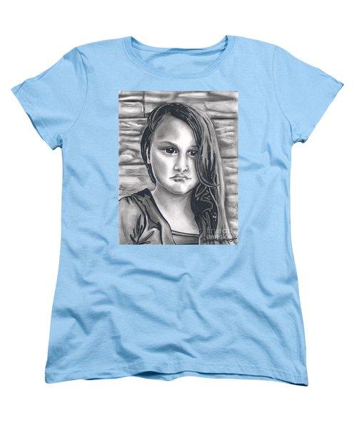 Young Girl- Shan Peck Contest Women's T-Shirt (Standard Cut) by Samantha Geernaert