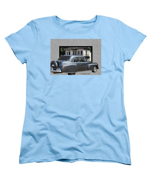 1947 Lincoln Continental Coupe Women's T-Shirt (Standard Cut) by Betty Northcutt