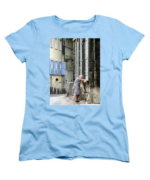 Women's T-Shirt (Standard Cut) featuring the photograph Another Nap.arles.france by Jennie Breeze