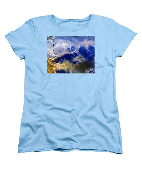 Blue Skies Women's T-Shirt (Standard Cut) by Donna Bentley