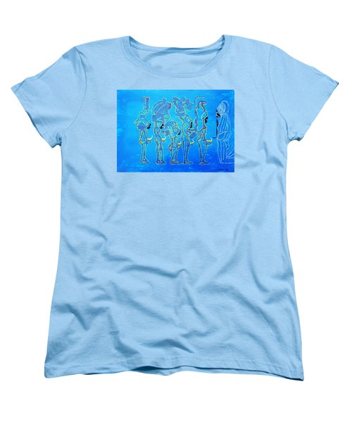 Dinka Wise Virgins  Women's T-Shirt (Standard Cut) by Gloria Ssali