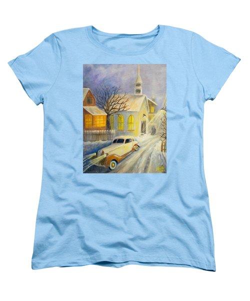 Going Home Women's T-Shirt (Standard Cut) by Renate Nadi Wesley