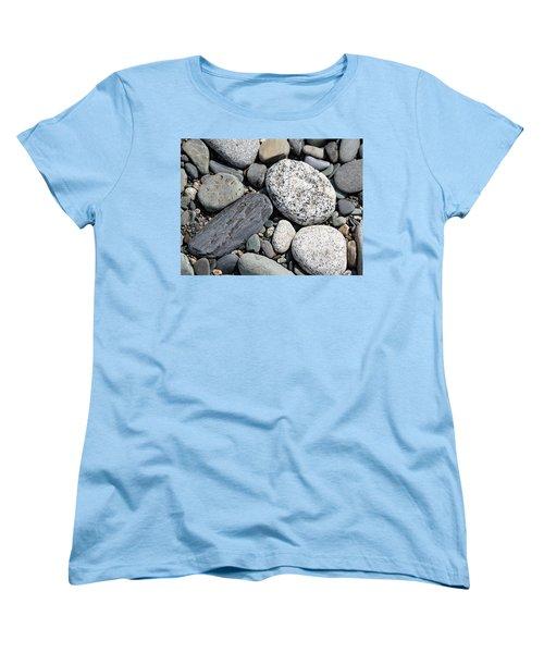 Women's T-Shirt (Standard Cut) featuring the photograph Healing Stones by Cathie Douglas
