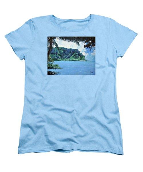 Pacific Island Women's T-Shirt (Standard Cut) by Stan Hamilton