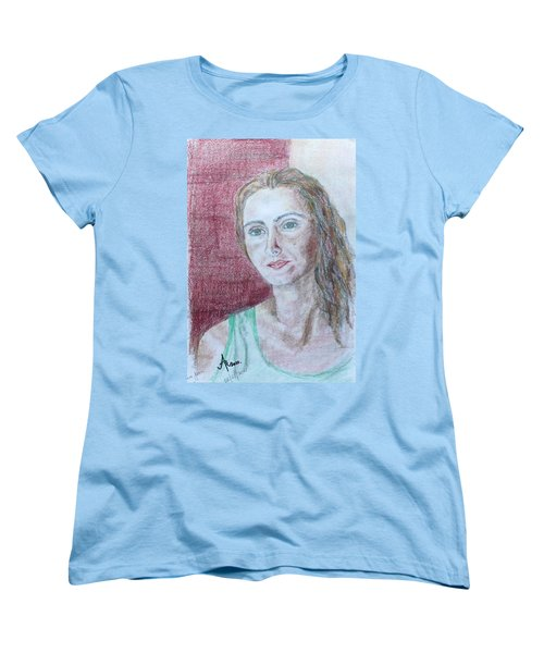 Self Portrait Women's T-Shirt (Standard Cut) by Anna Ruzsan