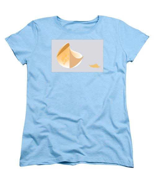 Snail Oracle Women's T-Shirt (Standard Cut) by Kevin McLaughlin