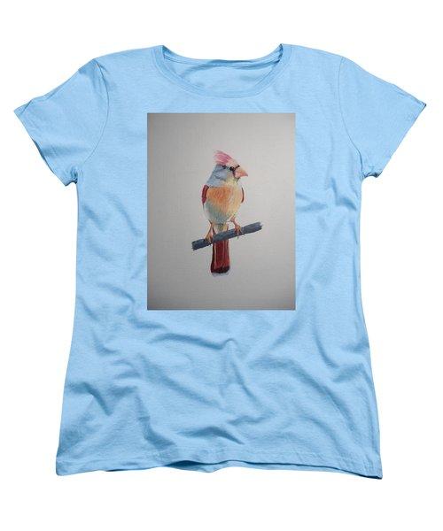 Spring Cardinal Women's T-Shirt (Standard Cut) by Norm Starks