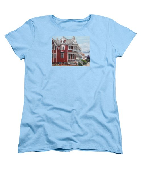 Victorian Afternoon Cape May Women's T-Shirt (Standard Cut) by Barbara Barber