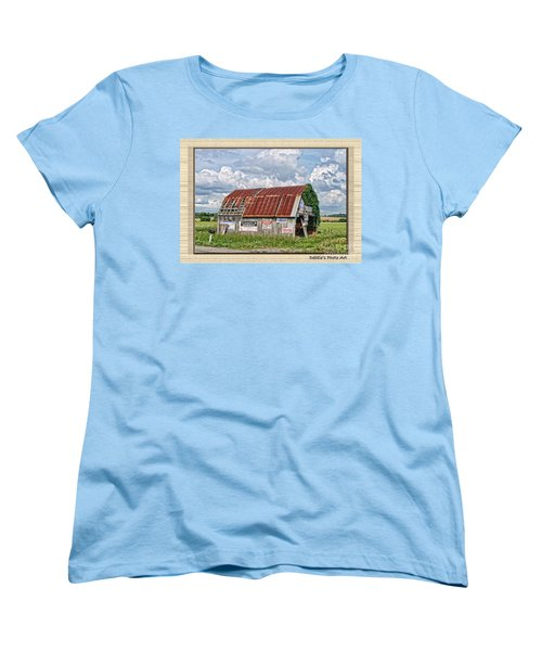 Women's T-Shirt (Standard Cut) featuring the photograph Vote For Me I by Debbie Portwood