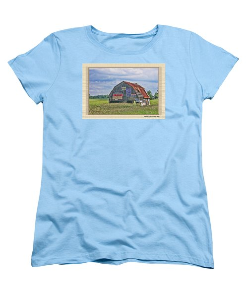 Women's T-Shirt (Standard Cut) featuring the photograph Vote For Me II by Debbie Portwood