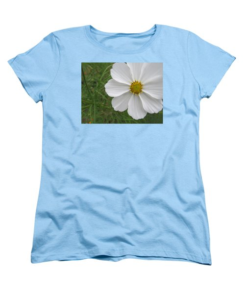 Women's T-Shirt (Standard Cut) featuring the photograph White Beauty by Tina M Wenger