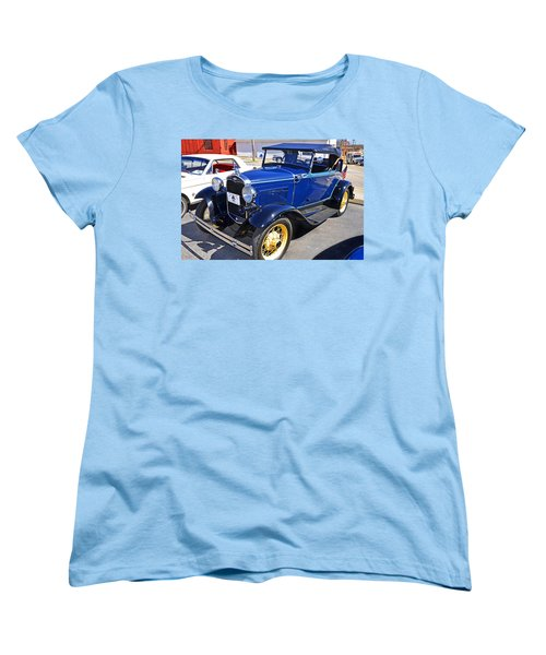 Women's T-Shirt (Standard Cut) featuring the photograph 1931 Ford by Paul Mashburn