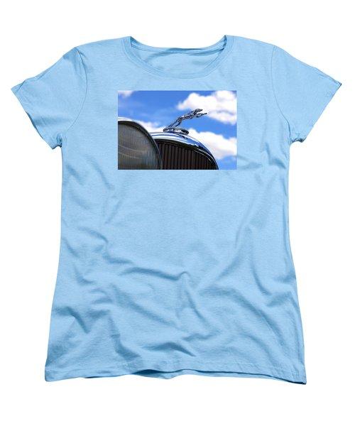 Women's T-Shirt (Standard Cut) featuring the photograph 1932 Lincoln Kb Brunn Phaeton by Gordon Dean II