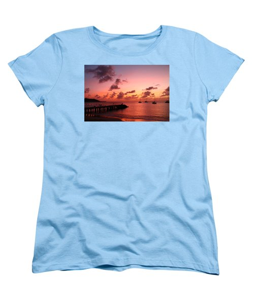 Sunset Women's T-Shirt (Standard Cut) by Catie Canetti