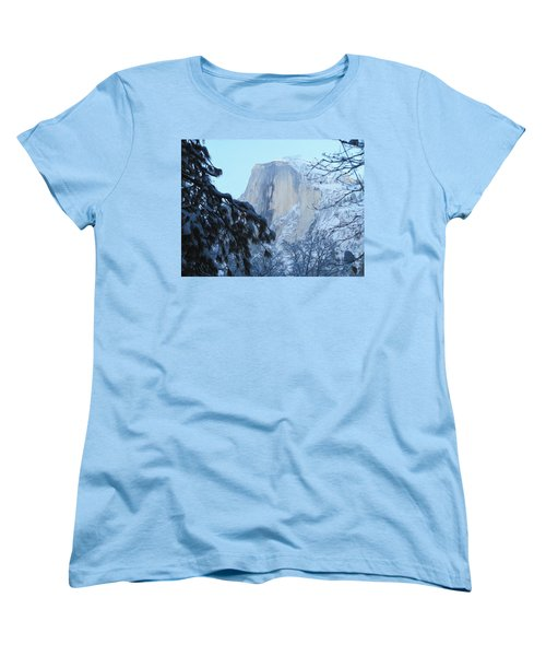 Women's T-Shirt (Standard Cut) featuring the photograph A Glimpse Through The Trees by Heidi Smith