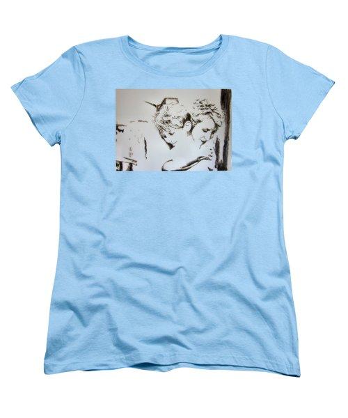 A Loving Hug Women's T-Shirt (Standard Cut) by Maris Sherwood