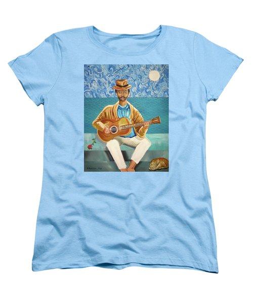 A Sad Song Women's T-Shirt (Standard Cut) by John Keaton