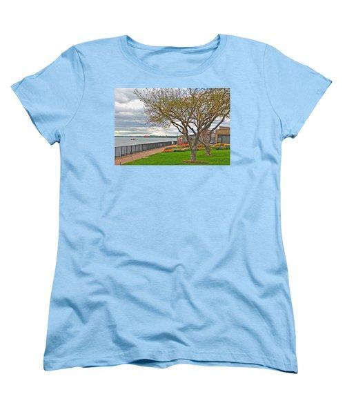 Women's T-Shirt (Standard Cut) featuring the photograph A View From The Garden by Michael Frank Jr