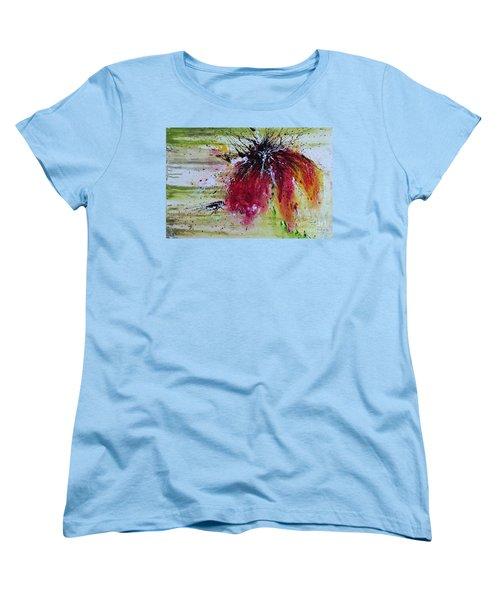 Abstract  Flower Women's T-Shirt (Standard Cut) by Ismeta Gruenwald