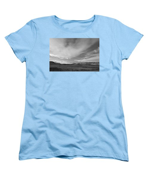 Women's T-Shirt (Standard Cut) featuring the photograph Across The Valley by Kathleen Grace