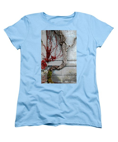 Women's T-Shirt (Standard Cut) featuring the photograph Adare Ivy by Charlie and Norma Brock