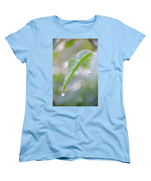 Women's T-Shirt (Standard Cut) featuring the photograph After The Rain by JD Grimes