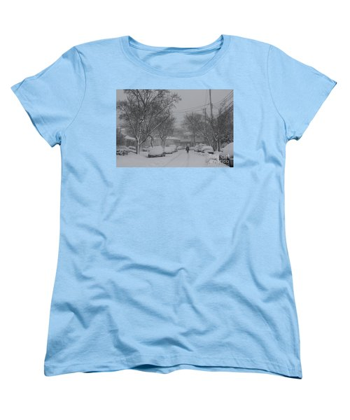 Women's T-Shirt (Standard Cut) featuring the photograph After The Storm by Dora Sofia Caputo Photographic Art and Design