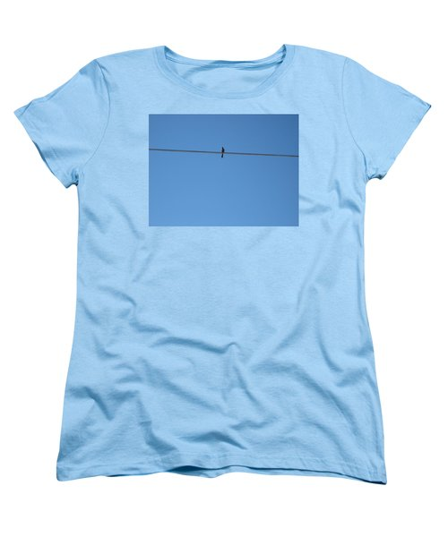 Women's T-Shirt (Standard Cut) featuring the photograph Alone At Last by Kume Bryant