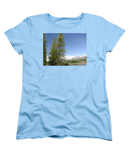 America The Beautiful Women's T-Shirt (Standard Cut) by Living Color Photography Lorraine Lynch