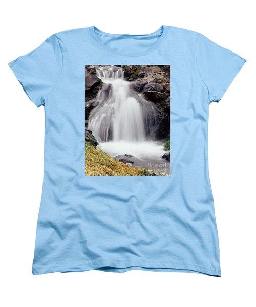 Women's T-Shirt (Standard Cut) featuring the photograph Angel Hair by Sharon Elliott