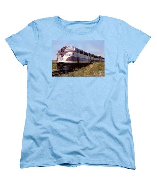 Atlantic Coast Line F2 Aba Women's T-Shirt (Standard Cut) by John Black