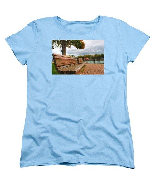Women's T-Shirt (Standard Cut) featuring the photograph Awaiting by Michael Frank Jr