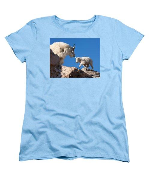Women's T-Shirt (Standard Cut) featuring the photograph Baby Steps by Jim Garrison