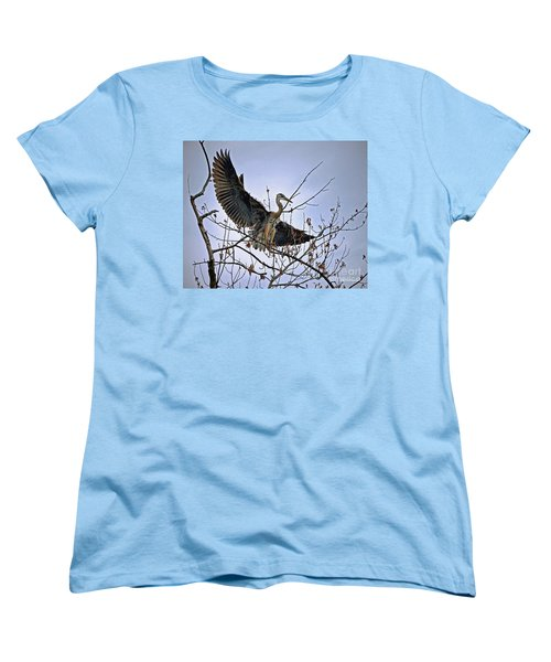 Balance Women's T-Shirt (Standard Cut) by Sue Stefanowicz