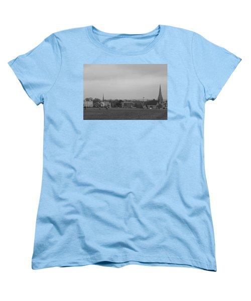 Women's T-Shirt (Standard Cut) featuring the photograph Blackheath Village by Maj Seda