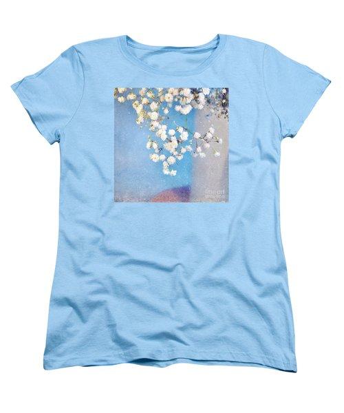 Blue Morning Women's T-Shirt (Standard Cut) by Lyn Randle