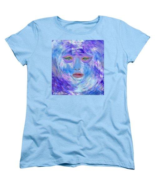 Blue Waters Women's T-Shirt (Standard Cut) by Kelly Turner