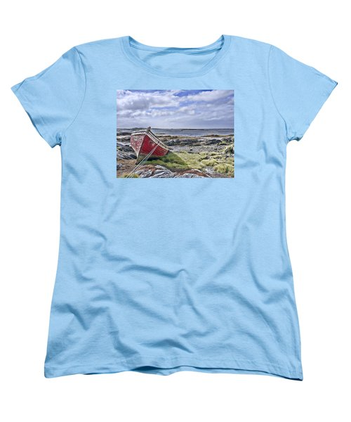 Women's T-Shirt (Standard Cut) featuring the photograph Boat by Hugh Smith