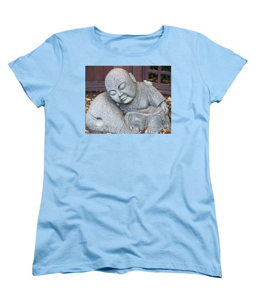 Women's T-Shirt (Standard Cut) featuring the photograph Buddha by Chalet Roome-Rigdon