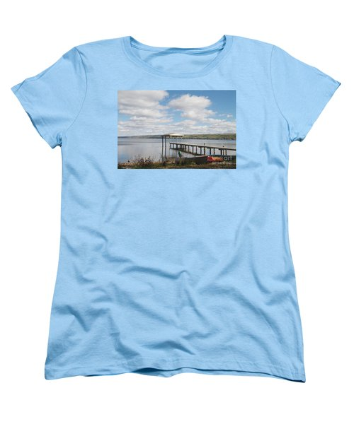 Women's T-Shirt (Standard Cut) featuring the photograph Calm Waters by William Norton