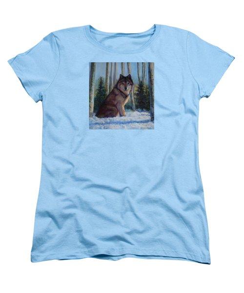 Captured By The Light Women's T-Shirt (Standard Cut) by Billie Colson