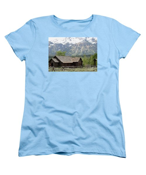 Chapel Of The Transfiguration Episcopal Women's T-Shirt (Standard Cut) by Living Color Photography Lorraine Lynch