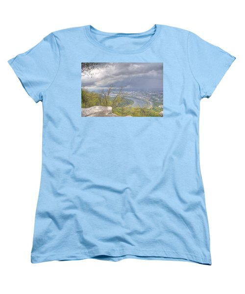 Chattanooga Valley Women's T-Shirt (Standard Cut) by David Troxel