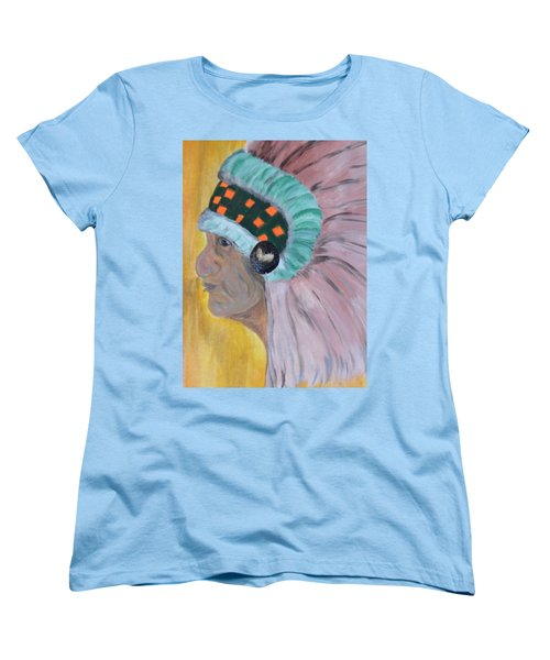 Chief Women's T-Shirt (Standard Cut) by Maria Urso