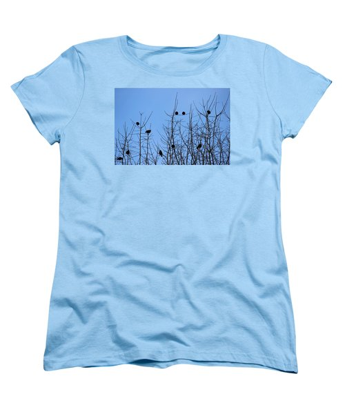 Women's T-Shirt (Standard Cut) featuring the photograph Circle Of Friends by Kume Bryant