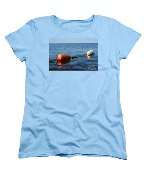 Women's T-Shirt (Standard Cut) featuring the photograph Closed by Barbara McMahon