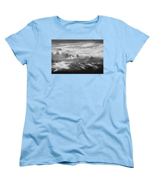 Cloud Art Women's T-Shirt (Standard Cut) by Colleen Coccia