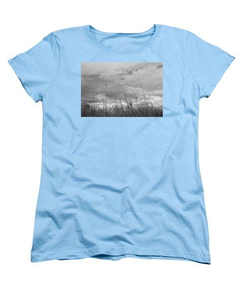 Women's T-Shirt (Standard Cut) featuring the photograph Cloud Watching by Kathleen Grace