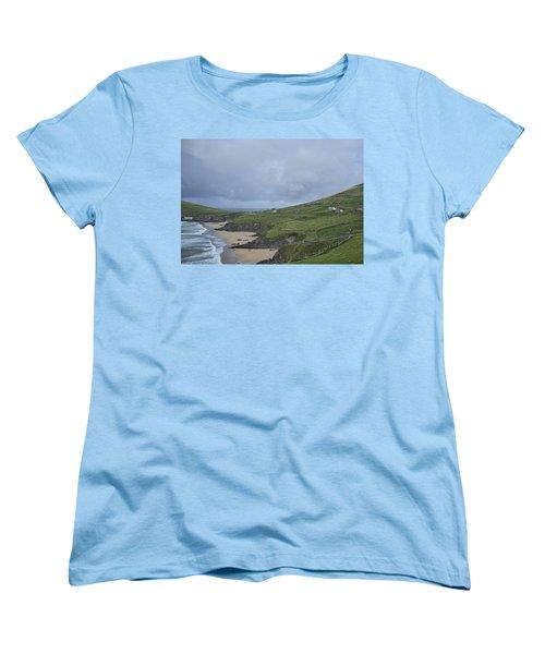 Women's T-Shirt (Standard Cut) featuring the photograph Coastline  by Hugh Smith